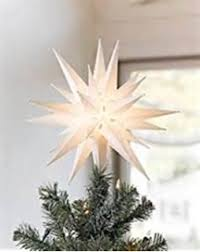 Christmas Decoration Star Lights by Amazon Com Elf Logic 21 U0027 U0027 Large White Moravian Star Bright