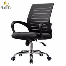 Black Mesh Office Chair Ergonomic Mid Back Mesh Office Chair W11 Black Lazada Singapore