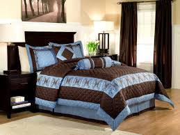 Bedroom Ideas With Blue And Brown Contemporary Bedroom Decorating Ideas Blue And Brown