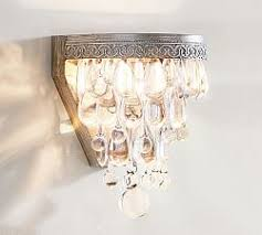 Corded Wall Light Wall Sconces U0026 Wall Lamps Pottery Barn