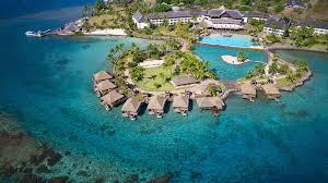 Tahiti Map World by French Polynesia Hotels Kuoni Travel