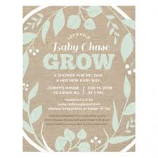 baby shower invitations catalog botanical paperworks