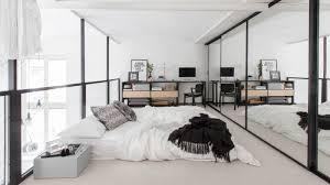 bedroom in the scandinavian style u2013 elegant gold white combination
