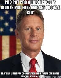 Gary Johnson Memes - gary johnson memes on twitter