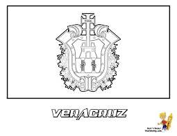 Mexican Flag Stencil Mexican Flag Coloring Pages Printables