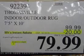 7 X 10 Outdoor Rug Costco Sale Thomasville Indoor Outdoor Rug 7 U00275
