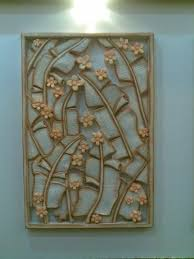 custom 3d wall tiles abstract wall sculptures wall mural ideas ceramic flower and leaves wall art