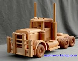 Homemade Wooden Toy Trucks by Free Toy Plans