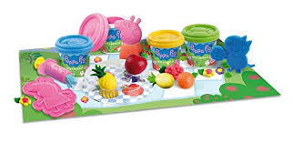 Peppa Pig Play Doh Peppa Pig Dough Picnic Activity Playset Toys