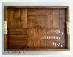 Ottoman Plans Diy Ottoman Tray Jaime Costiglio