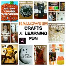 Halloween Crafts For Kindergarten Mom To 2 Posh Lil Divas 10 Fun Halloween Crafts U0026 Learning