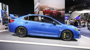 subaru wrx slammed 2018 subaru wrx and sti pack improved tech into fresh faced package