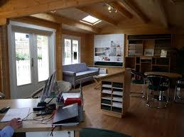 Cabin Design Ideas Home Office Log Cabin Sales Office Interior 4 Modern New 2017