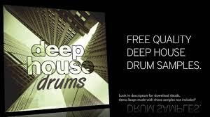 free deep house drum samples youtube