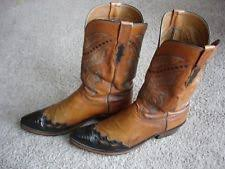 lucchese s boots size 11 lucchese leather boots s footwear ebay