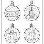 christmas ornament printable templates printable template 2017