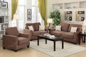 Brown Fabric Sofa Set Fabric Sofas Family Discount Furniture