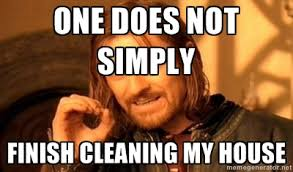 Clean House Meme - simply cleaning house meme bond cleanings