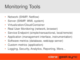 geek sync a lean approach to application performance monitoring