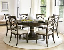 round pedestal dining table and chairs homelegance dandelion