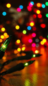 christmas lights iphone wallpaper iwallpapers
