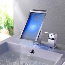 High End Bathroom Sink Faucets Waterfall Sink Faucet Waterfall Vessel Faucet
