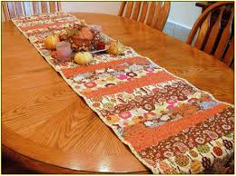 thanksgiving table runner home design ideas