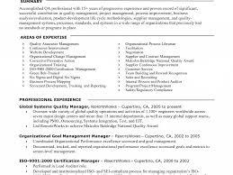 Qa Resume Sample 100 Resume Sample Qa Tester Quality Control Resume Sample