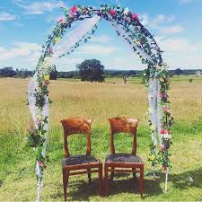 how to build a wedding arch how to make a diy floral wedding arch emily may