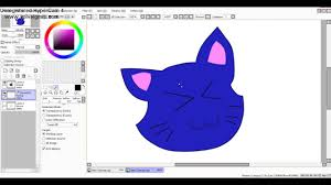how to use paint tool sai blur tool youtube