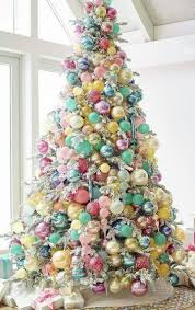 shabby chic christmas tree christmas tree decorating idea