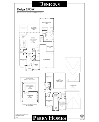 perry home floor plans 3593w plan missouri city texas 77459 3593w plan at riverstone