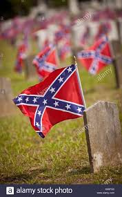 Confederacy Flags Confederate Flags On The Graves Of Soldiers Killed In The U S