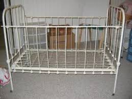cost to ship antique wrought iron convertable baby crib u0026 bed