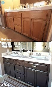 My Painted Bathroom Vanity Before - best 25 bathroom vanity makeover ideas on pinterest paint