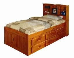 Platform Beds With Storage Underneath - bedroom platform bed storage twin captains bed with storage