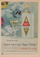 gilbey s gin happiest way to say happy holidays the wor flickr
