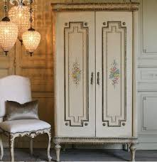 Vintage Armoire French Country Bedroom Sets And Headboards