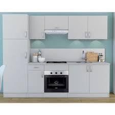 meuble hotte cuisine meuble de cuisine blanc sur hotte 1 abattant dya shopping fr