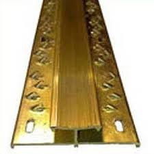 carpet threshold brass door bar joining carpet to carpet