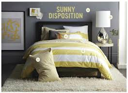 gray and yellow bedrooms bedroom chevron pattern gray yellow