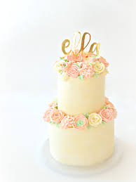 wedding cake decorating classes london 2 tiers pastel buttercream flowers birthday wedding cake with gold