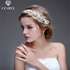 hair accessories for brides cc jewelry wedding headband bridal crown for women wedding