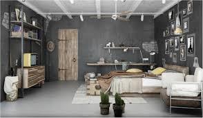 industrial home interior home design