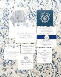wedding invitations online canada classic calligraphy wedding invitations blue and white wedding by