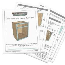 how to build custom base cabinets frame base cabinet woodworking plans