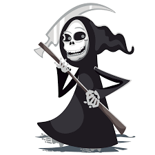 free halloween graphics grim reaper clipart images illustrations photos