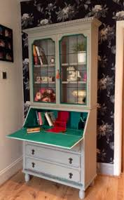 Annie Sloan Painted Bookcase Monsoon Dragonfly Interiors
