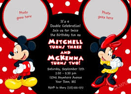 mickey mouse birthday party mickey mouse birthday party invitations iidaemilia