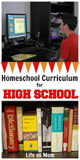 homeschool curriculum for high 9th and 12th grade